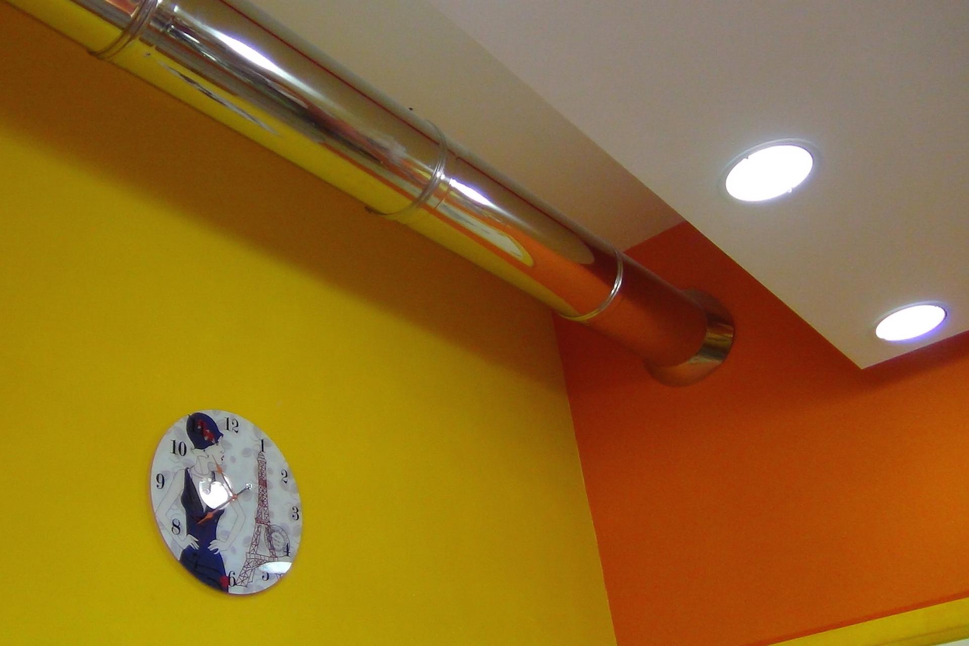 installazione impianti acciaio ventilazione