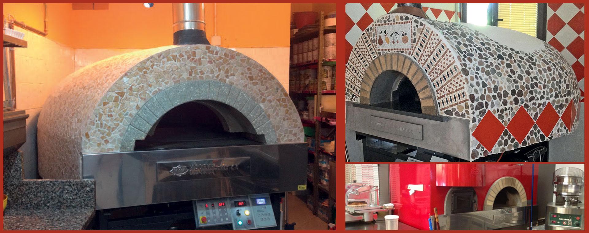 forni a gas per pizzerie